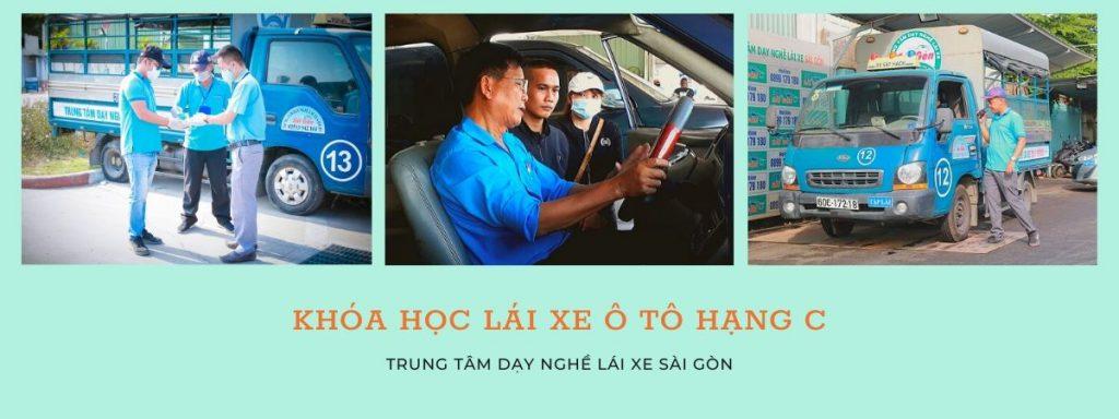 học lái xe ô tô bằng C tại trung tâm dạy lái xe sài gòn