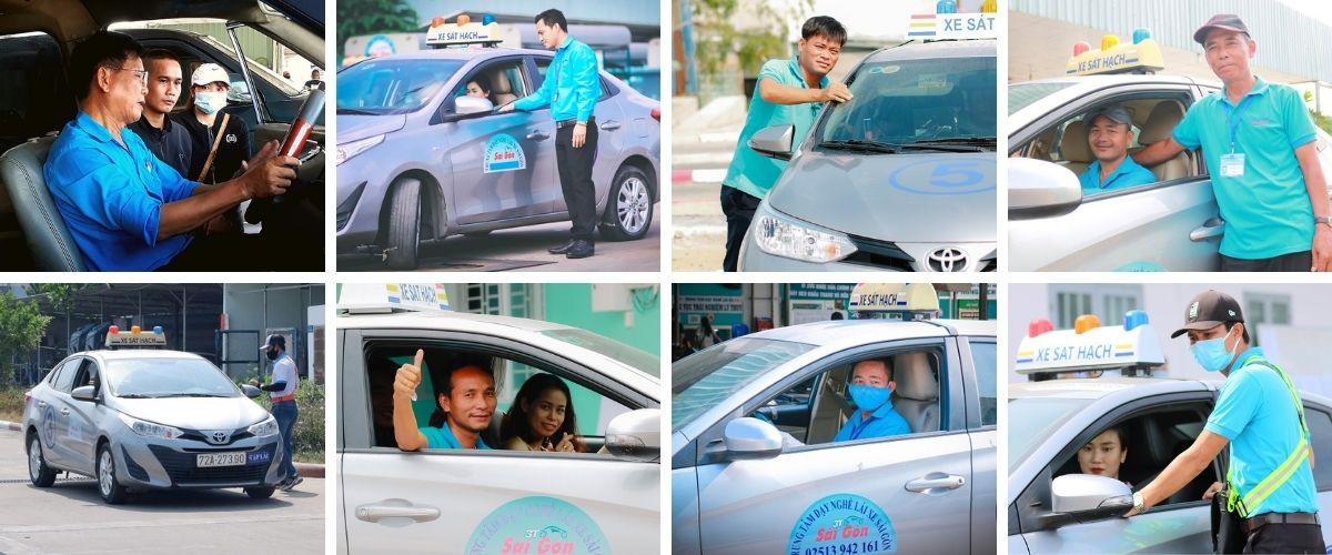 học lái xe ô tô tphcm dạy nghề lái xe Sài Gòn