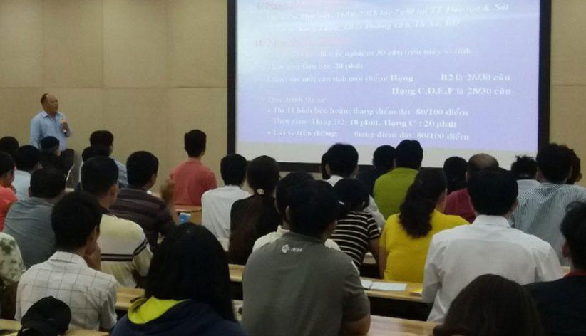 học bằng lái xe b2 hài lòng 100% ở trường dạy lái xe Sài Gòn hình 4