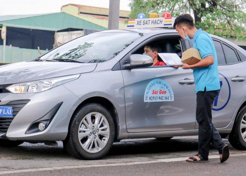 học lái xe b2 chỉ 3 tháng thi tại trường dạy lái xe Sài Gòn hình 3