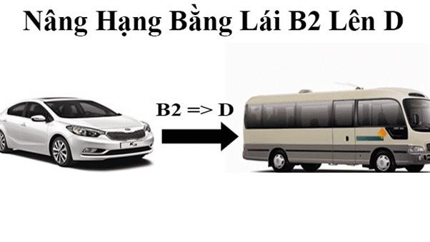 nâng dấu bằng lái xe b2 lên d hình 1