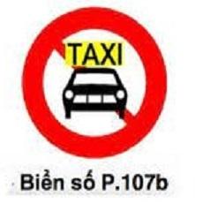 biển báo cấm 107b