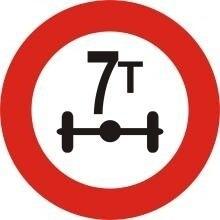 biển báo cấm 116