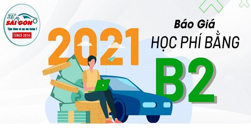 Giá học lái xe b2 và lệ phsi thi bằng b2 hình 3